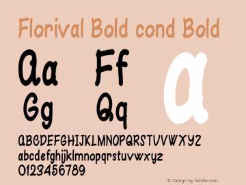 Florival Bold cond
