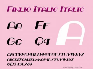 Finlio Italic