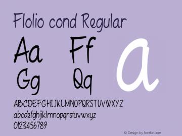 Flolio cond