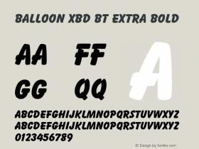 Balloon XBd BT