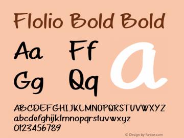 Flolio Bold