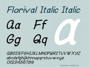 Florival Italic