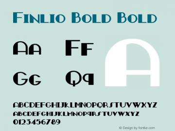 Finlio Bold