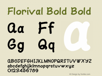 Florival Bold