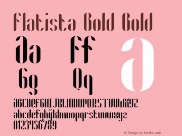 Flatista Bold