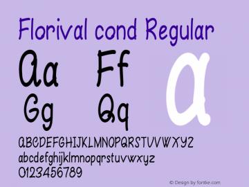 Florival cond