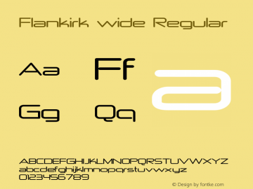 Flankirk wide