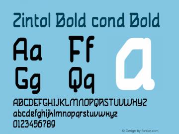 Zintol Bold cond
