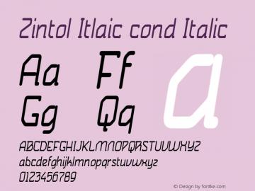 Zintol Itlaic cond
