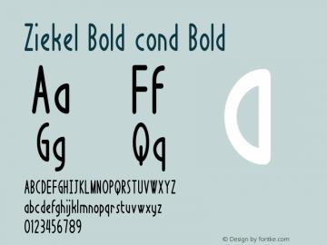 Ziekel Bold cond