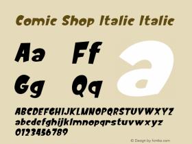 Comic Shop Italic