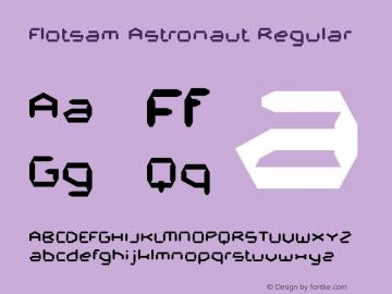 Flotsam Astronaut
