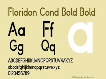 Floridon Cond Bold