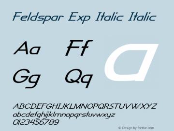 Feldspar Exp Italic