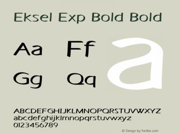Eksel Exp Bold