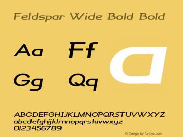 Feldspar Wide Bold