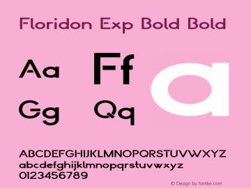 Floridon Exp Bold