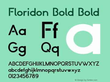 Floridon Bold
