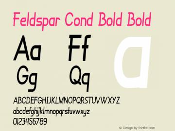 Feldspar Cond Bold