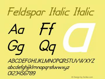 Feldspar Italic