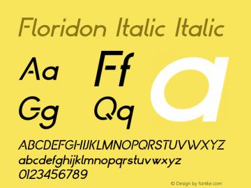 Floridon Italic