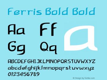 Ferris Bold