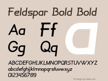 Feldspar Bold