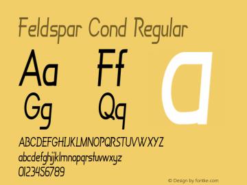 Feldspar Cond