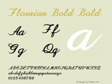 Flourian Bold