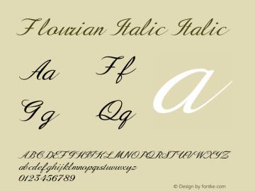Flourian Italic