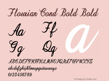 Flourian Cond Bold