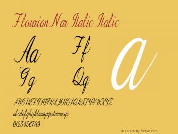 Flourian Nar Italic
