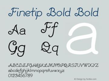 Finetip Bold