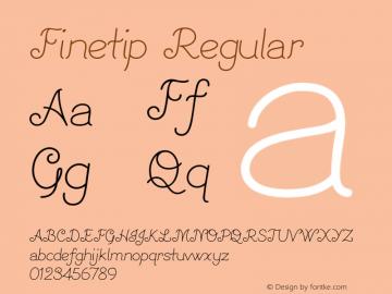 Finetip