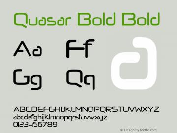 Quasar Bold