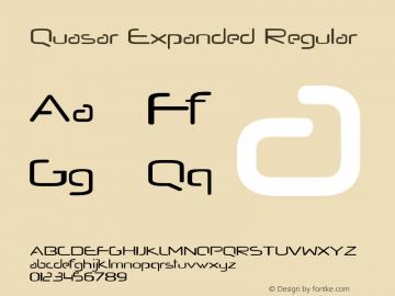 Quasar Expanded