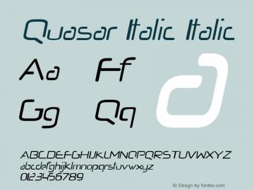 Quasar Italic