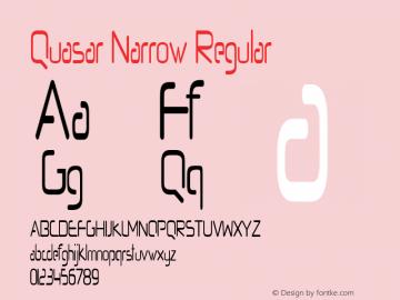 Quasar Narrow