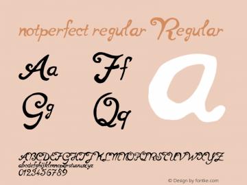 notperfect regular