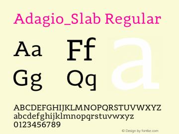 Adagio_Slab