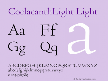 CoelacanthLight