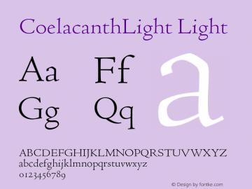 CoelacanthLight