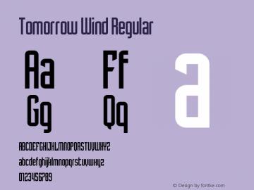 Tomorrow Wind