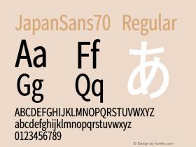 JapanSans70