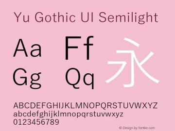 Yu Gothic UI