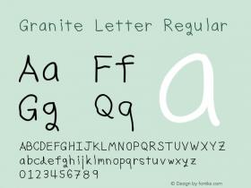 Granite Letter