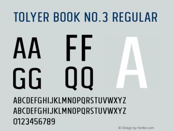 Tolyer Book no.3