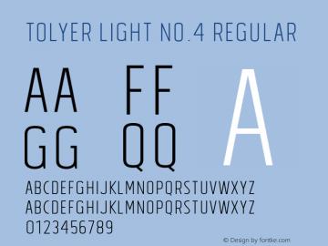 Tolyer Light no.4