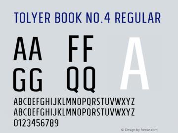 Tolyer Book no.4