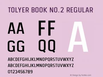 Tolyer Book no.2